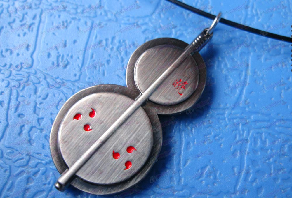 Naruto Uchiha spot necklace