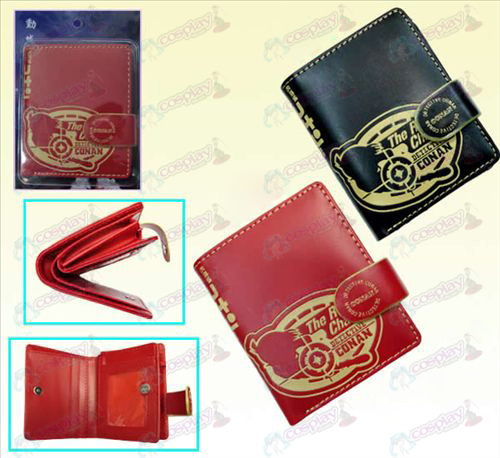 Conan 13 anniversary leather wallet (a)