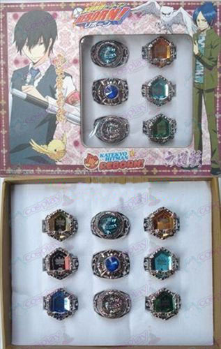 9 Reborn! Accessories Ring Set