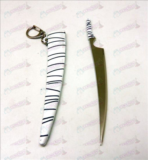 Bleach Accessories knife buckle (white sheath)