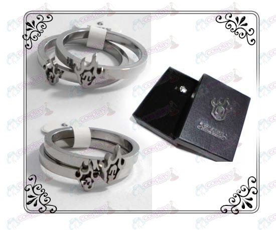 Bleach Accessories couple rings (stainless steel)
