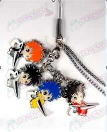 Bleach Accessories-Ichigo Kurosaki color 4 Pendant mobile phone chain