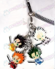 Bleach Accessories-Lang Lion in Winter Color 4 Pendant mobile phone chain