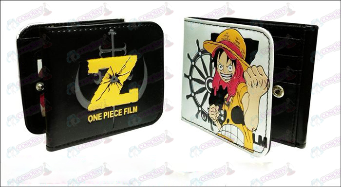 Pirate Luffy fold wallet