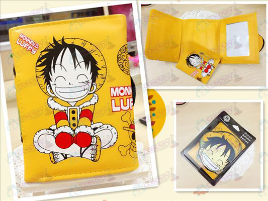 One Piece Accessories Luffy Q version of the bulk purse