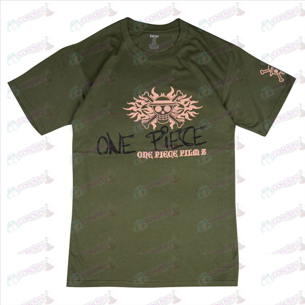 Luffy Pirates T-Shirt (Army Green)