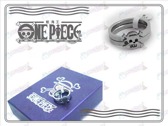 One Piece Accessories stainless steel couple rings (B section)
