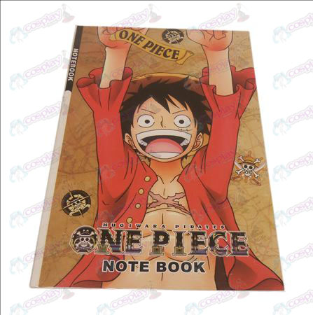 Luffy One Piece Accessories Notebook