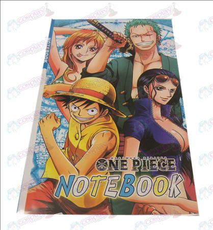 One Piece Accessories Notebook