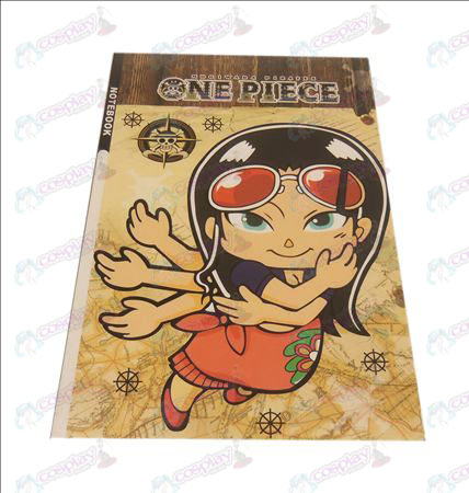 QOne Piece Accessories Robin notebook