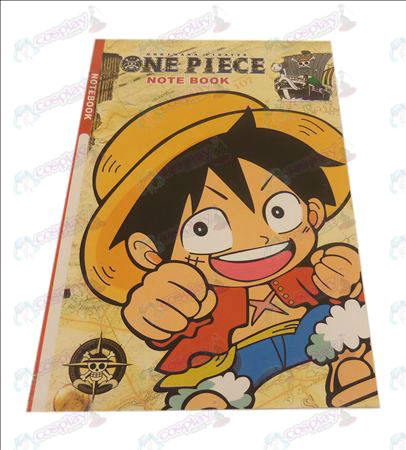 QOne Piece Accessories Luffy notebook