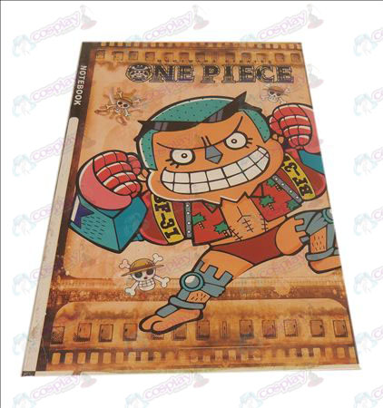 QOne Piece Accessories Frankie notebook