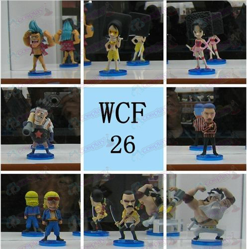 68 on behalf of eight pirate doll base (boxed)