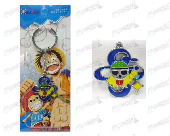 One Piece Accessories logo keychain Nami after two years