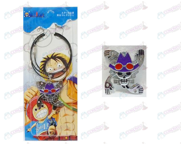 One Piece Accessories years Houluo Bin flag wire chain
