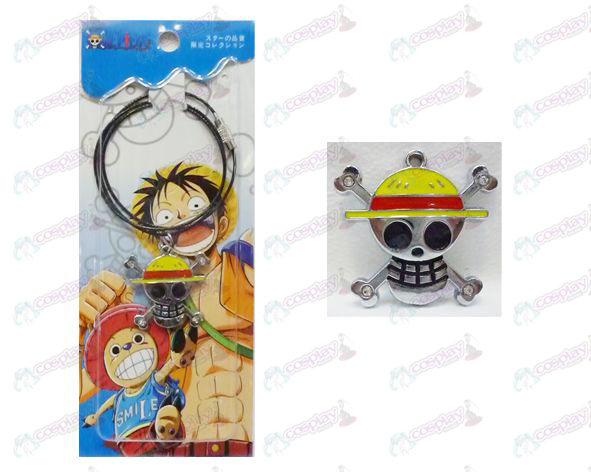One Piece Accessories posterior fly two flags just wire chain