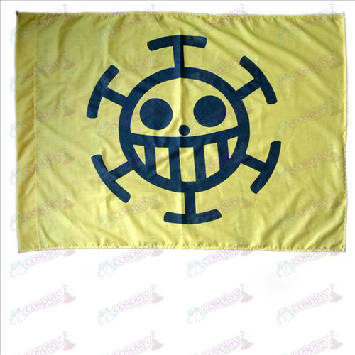 One Piece Accessories ޼ doctors pirate flag B