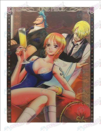 Stereoscopic prints (One Piece Accessories3) Zhang