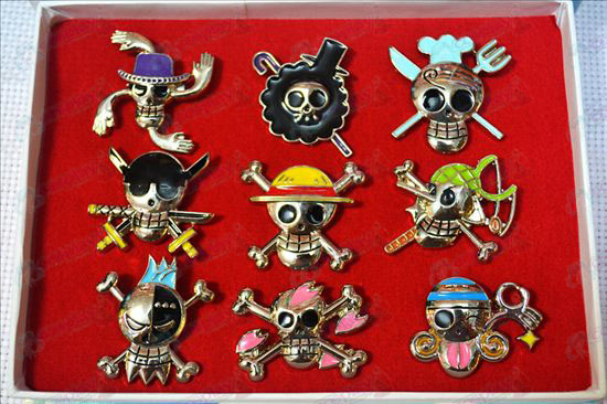 One Piece Accessories9 models brooch
