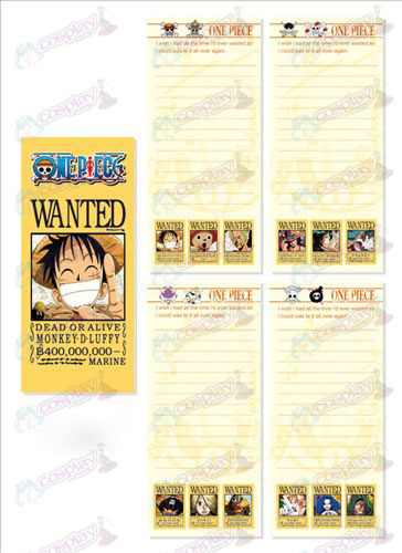 One Piece Accessories Long Scratch Pad 002