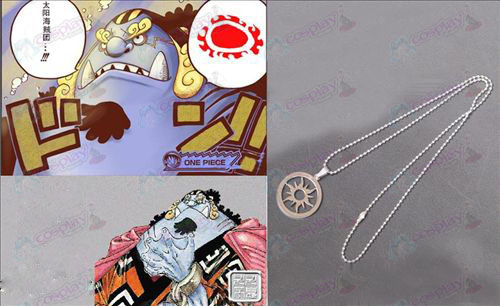One Piece Accessories Ji Beier sun Stainless Steel Necklace