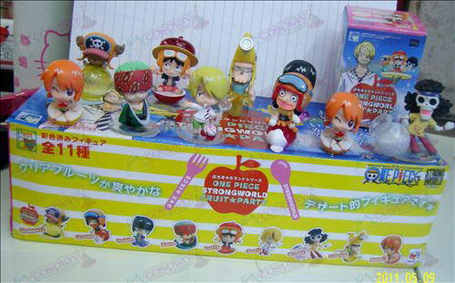 10 Fruit Party One Piece Accessories Doll