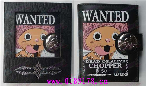 One Piece Accessories Chopper wallet (color)