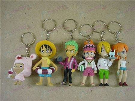 A32-generation 6 One Piece Accessories Doll Keychain