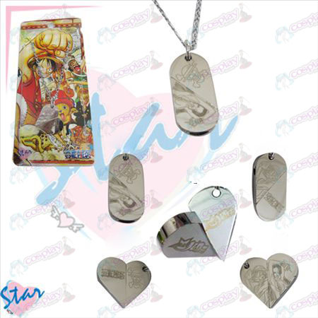 One Piece Accessories necklace heart-shaped transition