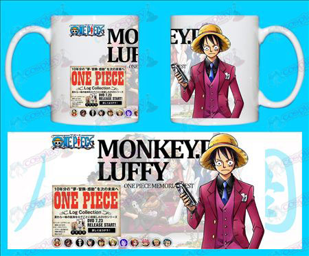 H-One Piece Accessoarer Muggar monkey-D