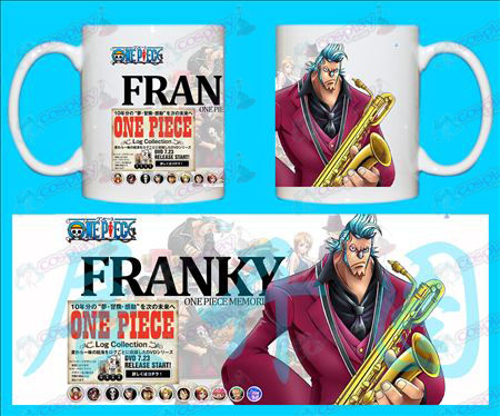 H-One Piece Accessories Mugs FRANkY