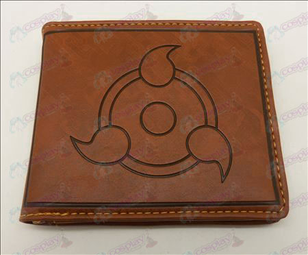 Naruto write round eyes wallet (Jane)