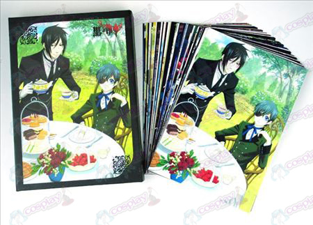 Black Butler Accessories Postcards 2