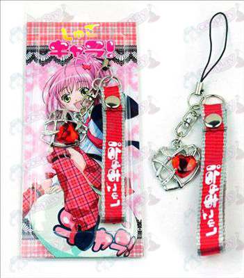 Shugo Chara! Accessories Heart Shaped Strap (Red)