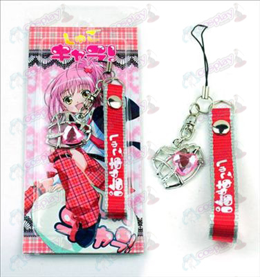 Shugo Chara! Accessories Heart Shaped Strap (Pink)