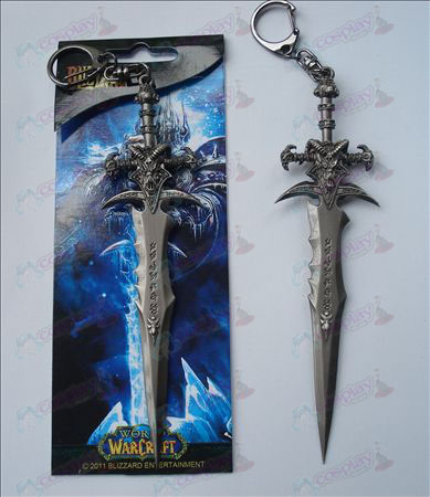 World of Warcraft Accessories Frostmourne sword buckle (14.5cm)