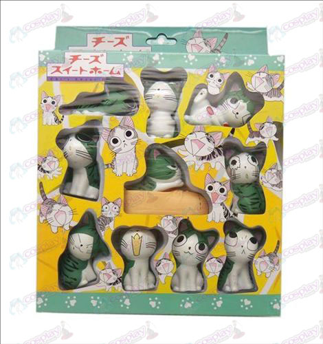 10 Sweet Cat Accessories Doll (boxed) 5.5cm