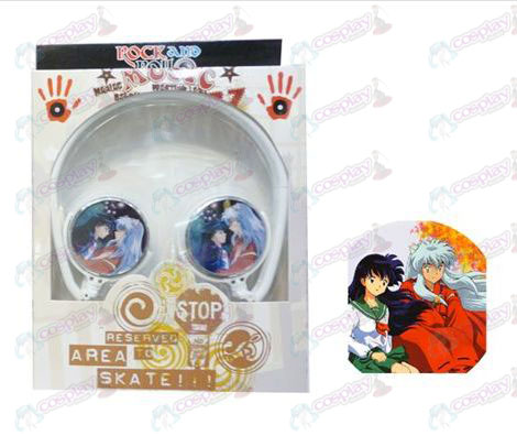 Stereo headset can be folded commutation headphones InuYasha Accessories