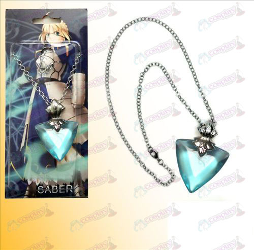 Steins; Gate Accessories necklace baby blue