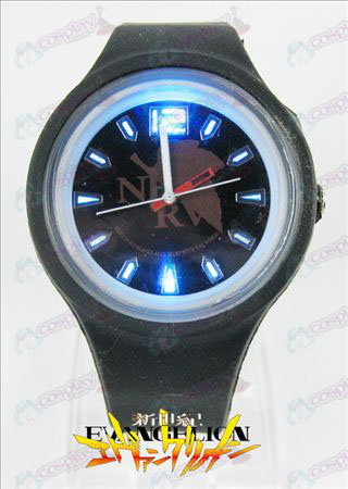Colorful flashing lights sport watch-EVA Accessories