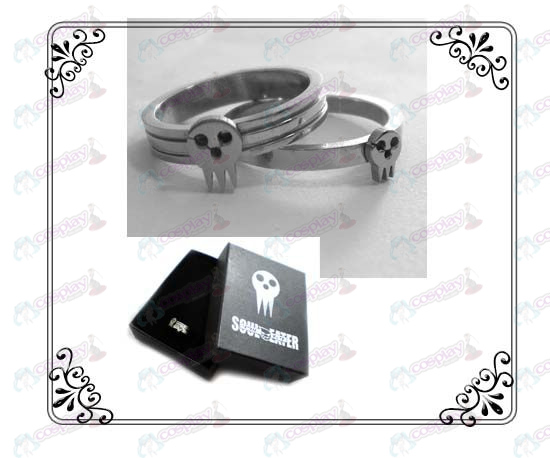 Soul Eater Accessories stainless steel couple rings (A section)