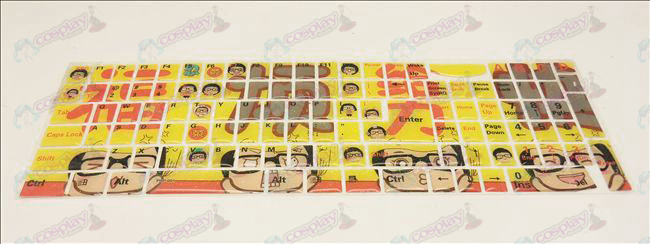 (Jelly keyboard stickers) Cai Cai