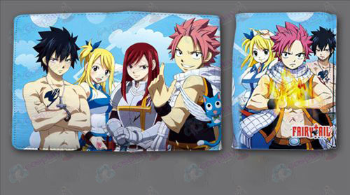 Fairy Tail Accessories fold wallet QB3149 () Short