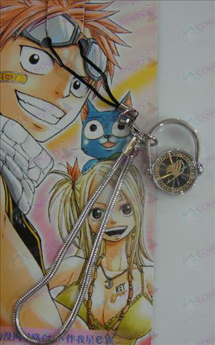Black Steel Ring Strap Fairy Tail Accessories gold