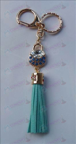 Fruits Basket Tillbehör Blue Diamond Keychain