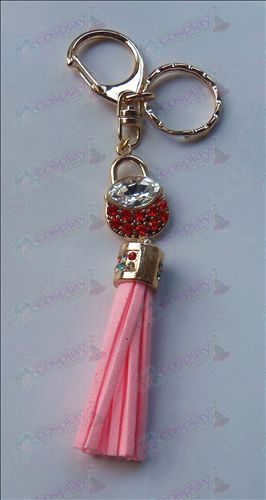 Fruits Basket tillbehör Red Diamond Keychain