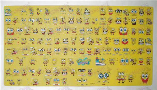 SpongeBob SquarePants Accessories keyboard stickers