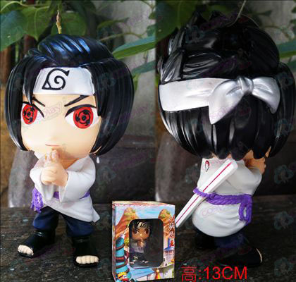 Naruto Sasuke three generations resin doll Q version 2