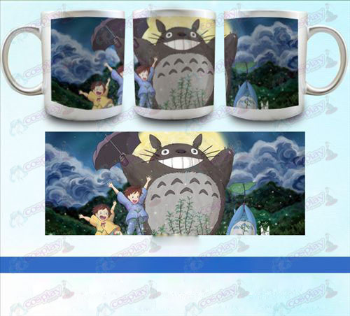 YB097-My Neighbor Totoro Accessories pearlescent silver cup