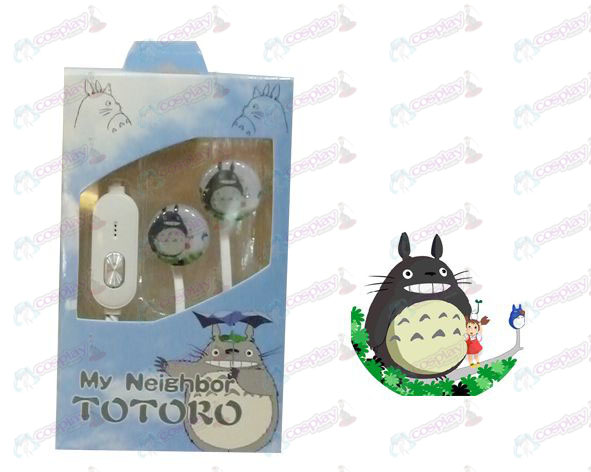 Flat line can voice headset My Neighbor Totoro Accessories